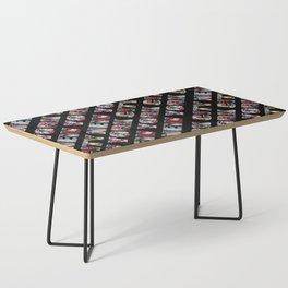 New York City (typography diagonal) Coffee Table