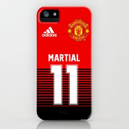 Martial - Manchester United Home 2018/19 iPhone Case