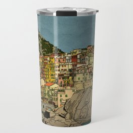 Of Houses and Hills Travel Mug