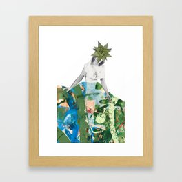 Succulent Sally Framed Art Print
