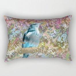 Little Scrub Jay Rectangular Pillow