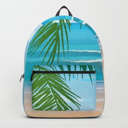 Beach Therapy #10 Backpack