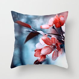 Red Desire Throw Pillow