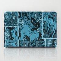 burlesque iPad Cases featuring Clowns Burlesque by Michael D'Orazio Art