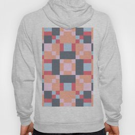 Native Patchwork Pixel Hoody