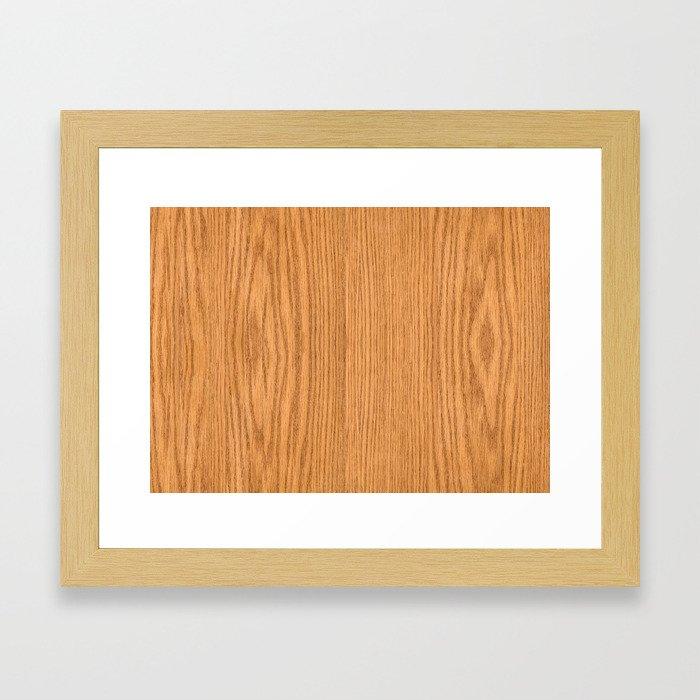Wood 3 Framed Art Print