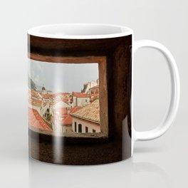 Looking through the eye of Dubrovnik Coffee Mug