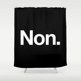 Non Shower Curtain