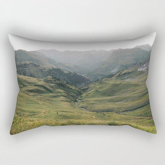 Little People - Landscape Photography Rectangular Pillow