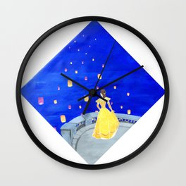 To Be Free Wall Clock