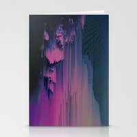 fringe Stationery Cards featuring Pink Fringe by DuckyB