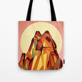 TOUCHING THE VOID Tote Bag