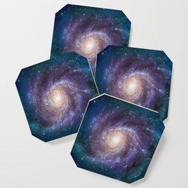 Pinwheel Galaxy Coaster