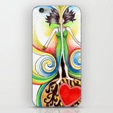 Energy Volcano iPhone & iPod Skin