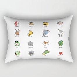 Hotline Kawaii Rectangular Pillow