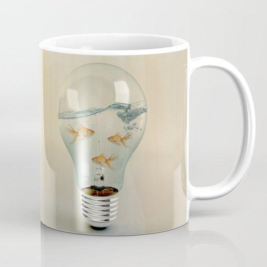 ideas and goldfish 03 Mug