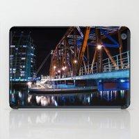 detroit iPad Cases featuring Detroit Bridge by Fotomus-Digital