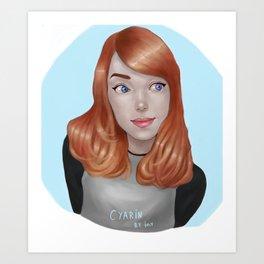 Cyarin Art Print