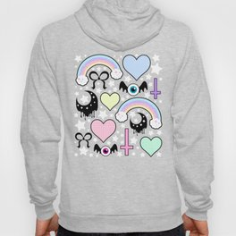 Pastel Goth Collage Hoody
