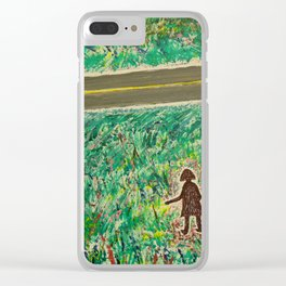 """""""Lost"""" Clear iPhone Case"""