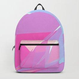 Pastel Polygonal Backpack