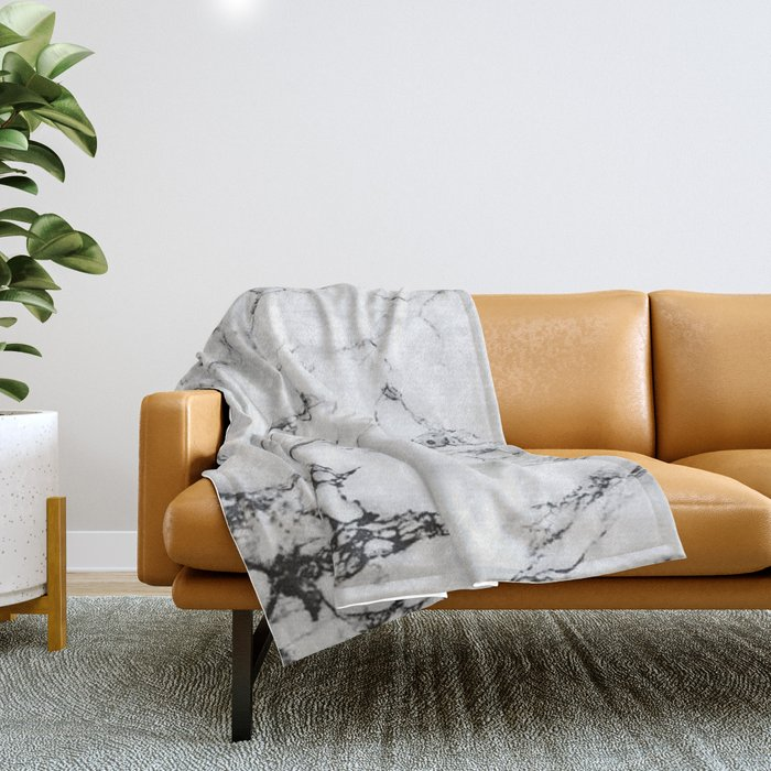 Marble #texture Throw Blanket