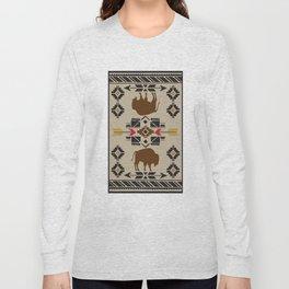American Native Pattern No. 180 Long Sleeve T-shirt