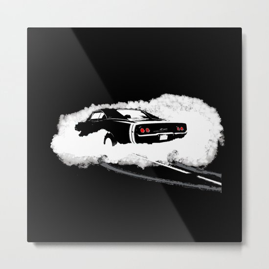 Charger R/T (Reverse) Metal Print
