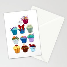 The Princess Cupcake Collection  Stationery Cards