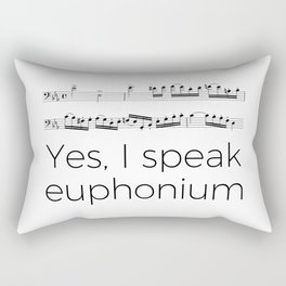Do you speak euphonium? Rectangular Pillow