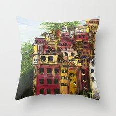 Cinque Terre Throw Pillow