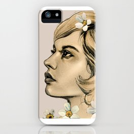 Portrait of her iPhone Case
