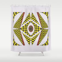 easter Shower Curtains featuring Poppy Easter by MissCrocodile63