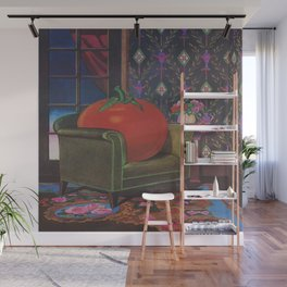 Therapy With A Tomato Milton Glaser - Tomato- Something unusual is going on here - 1978 Wall Mural