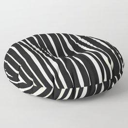 Retro Stripe Floor Pillow