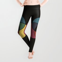 Matthew Luckiesh: The Subtractive Method of Mixing Colors (1921), vintage re-make Leggings