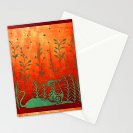 Cretan Griffin Stationery Cards