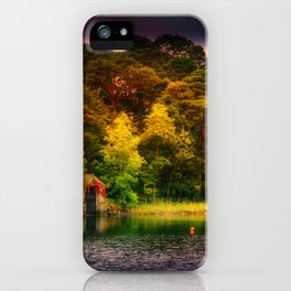 The Old Boat House iPhone Case
