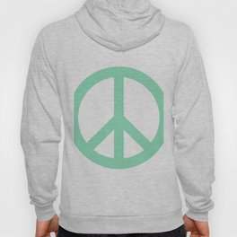 Peace (Mint & White) Hoody
