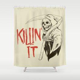 Killin It Shower Curtain