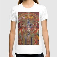 """tree rings T-shirts featuring """"Growth Rings"""" by AmarnathArt"""