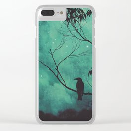 Evening Songbird Clear iPhone Case