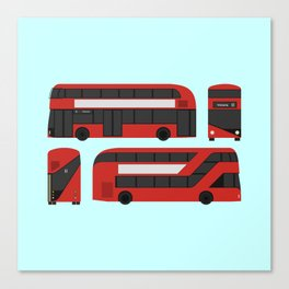 New London Routemaster Canvas Print