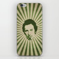 springsteen iPhone & iPod Skins featuring The Boss by Durro