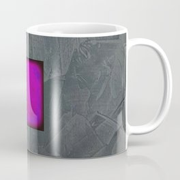 Slate Gray Lavender Fuschia Modern Art Coffee Mug
