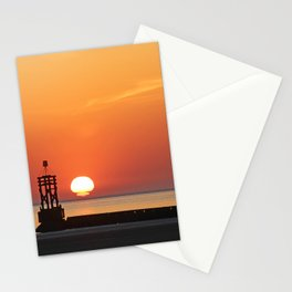 Sinking into the sea Stationery Cards
