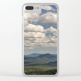 from peaked mountain Clear iPhone Case