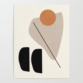Abstract Shapes 61 Poster