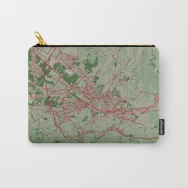 Florence - Italy Christmas Color City Map Carry-All Pouch