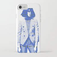 suit iPhone & iPod Cases featuring Suit by fashionistheonlycure